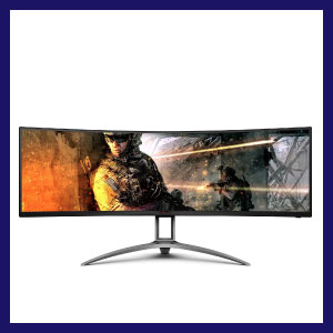 AOC AGON Curved Gaming Monitor