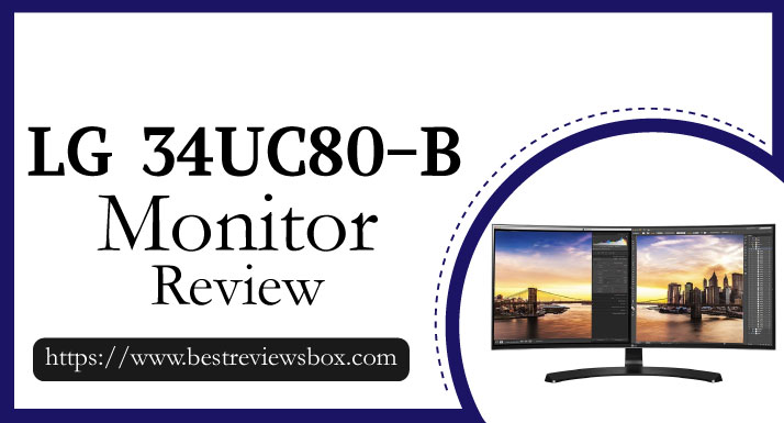 LG 34UC80-B 34-Inch 21:9 Curved UltraWide QHD IPS Monitor with USB Quick Charge