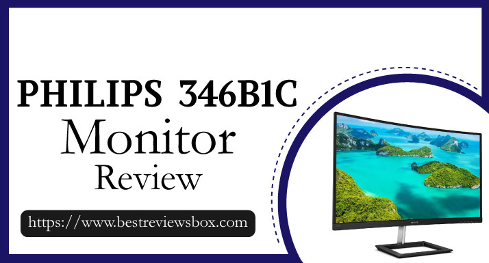 "Philips 272E1CA 27"" Curved Frameless Monitor"