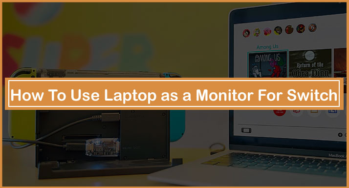 How To Use Laptop as a Monitor For Switch
