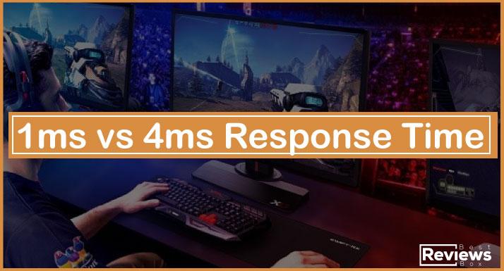 1ms vs 4ms Response Time