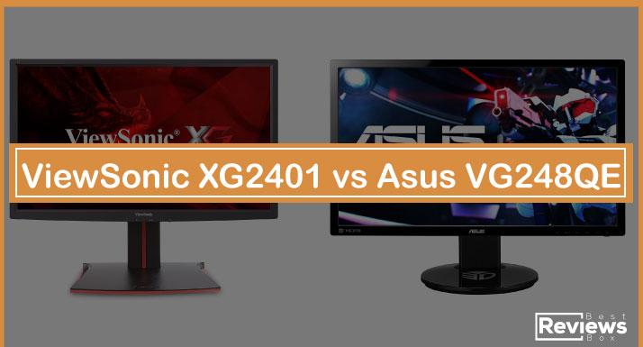 ViewSonic XG2401 vs Asus VG248QE